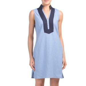 Sail to Sable Classic Tunic Linen Dress